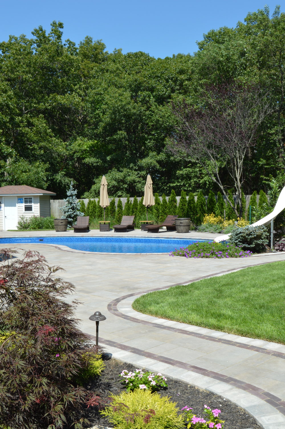 patio design in bethpage, ny