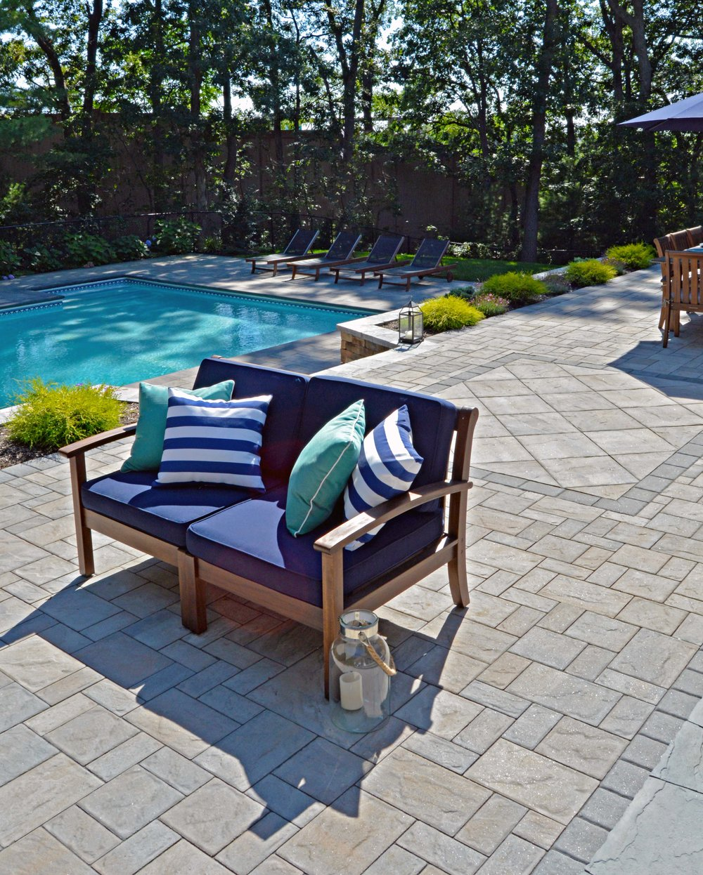 outdoor living room patio in Smithtown, NY