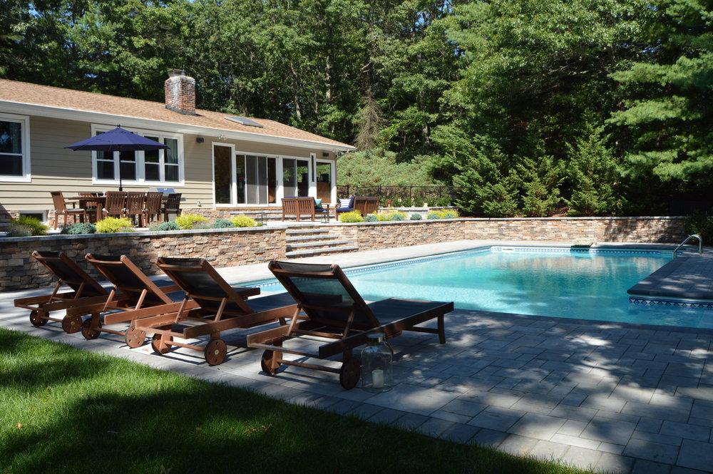 Backyard designs in Huntington NY