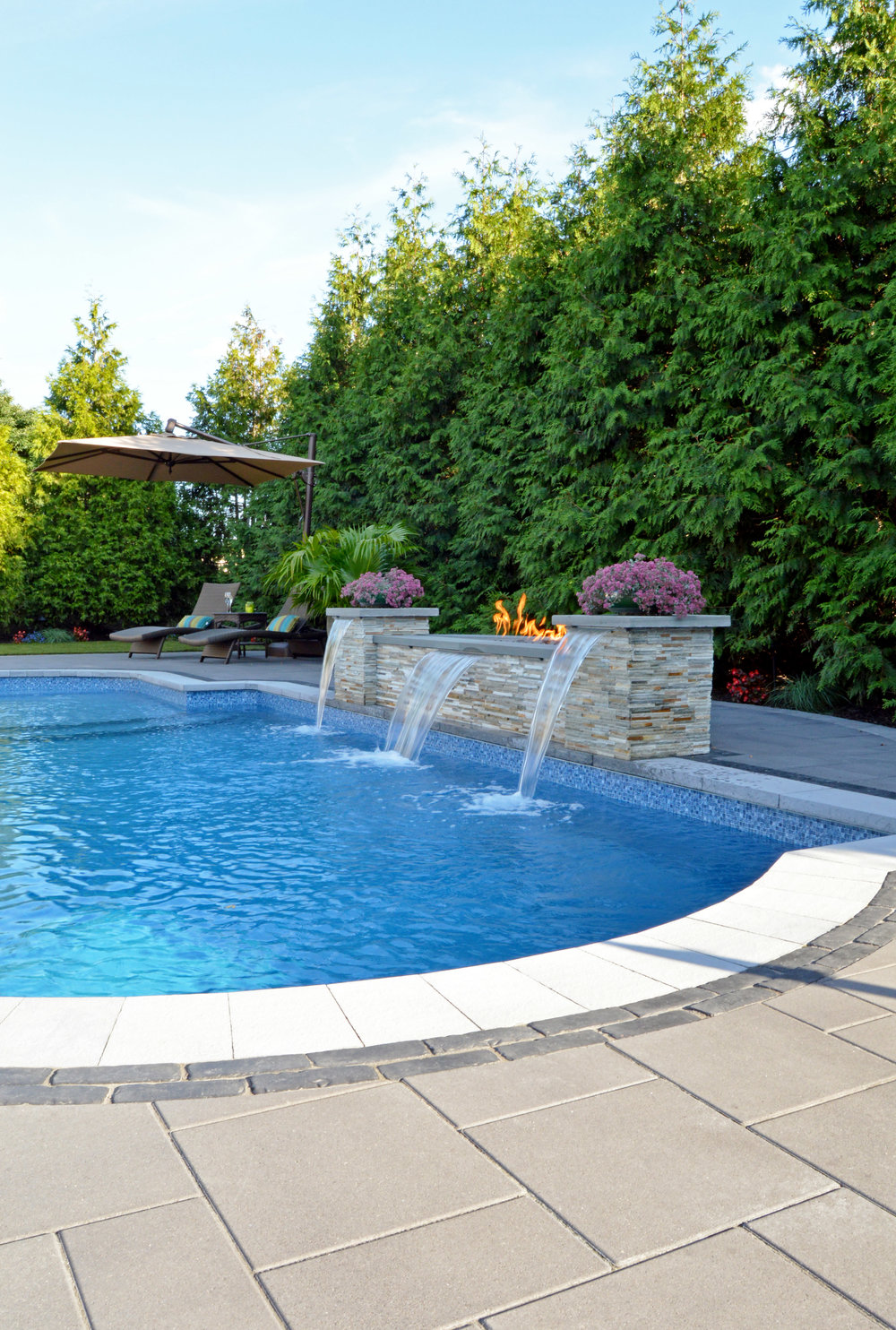 ... NY Swimming Pool Patio Design ...