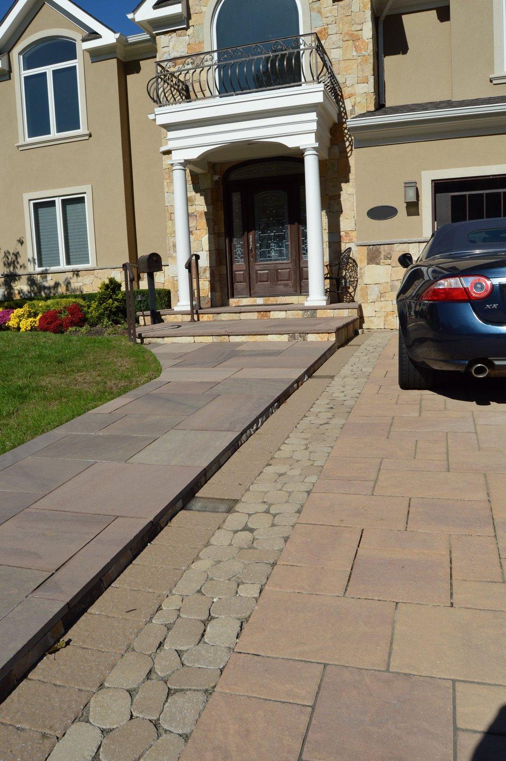 Bayville paver driveway