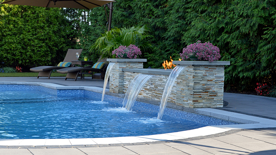Water Features For Backyard 4 soothing backyard water feature designs — above all masonry