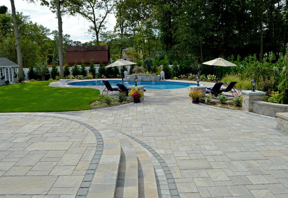 Backyard Designs for Massive Massapequa Park, NY, Properties