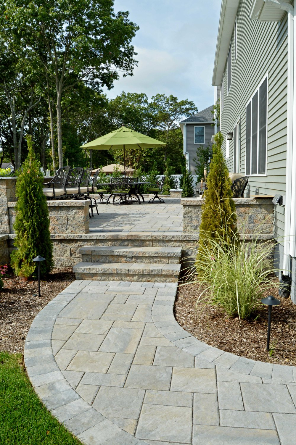 Port Jefferson, NY outdoor kitchen and patio