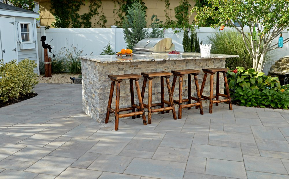 Genial For Cooking, Dining, And Gathering. Outdoor Kitchens