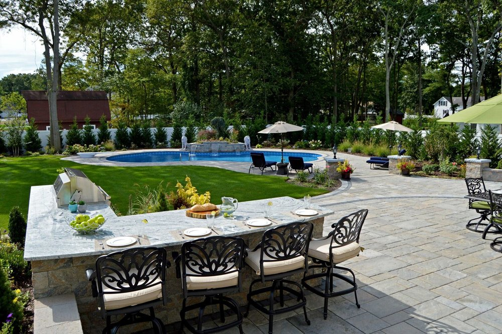 Outdoor kitchens built in bbqs in long island ny for Craft party long island