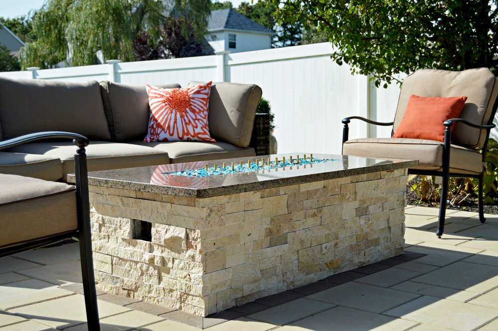 Smithtown, NY landscape and patio design