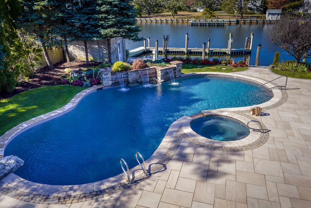 Swimming Pool Designs In Long Island Ny Above All Masonry - Swimming-pool-patio-designs