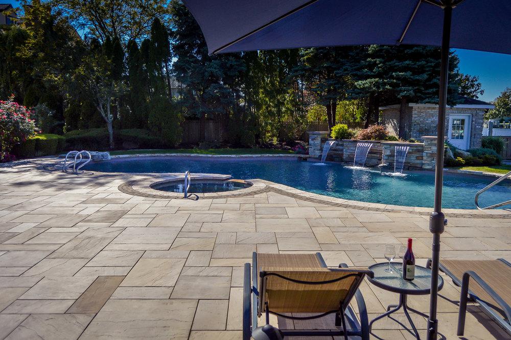 ... NY Swimming Pool Patio Design ...