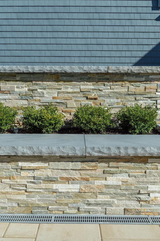 Masonry wall in Long Island, NY