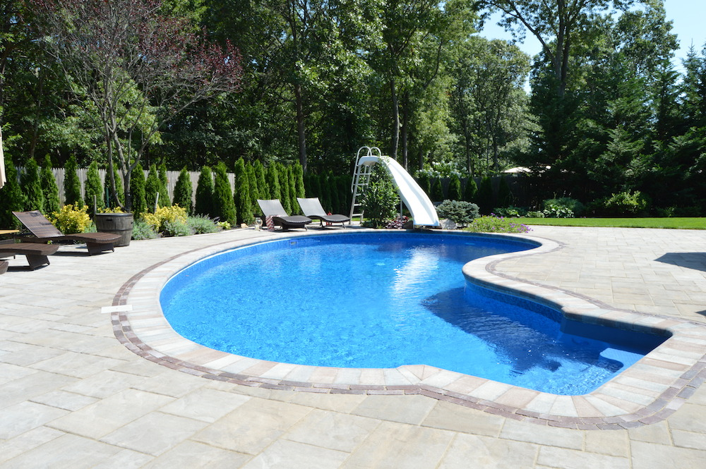 Swimming Pool Designs For Small Backyards In Massapequa