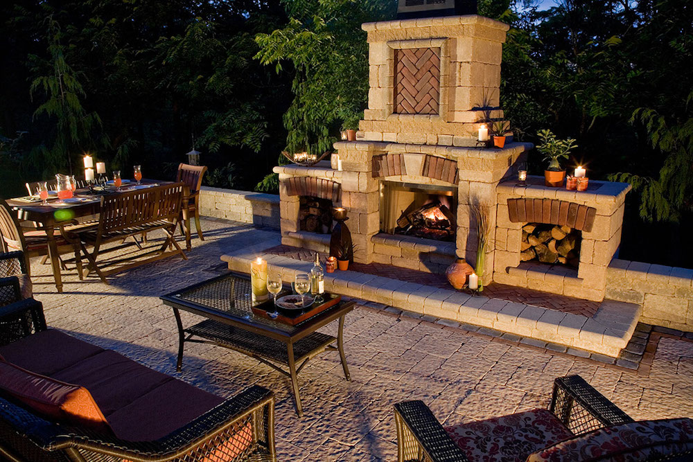 Add Warmth to Your Oyster Bay Backyard with a Wood-Burning Outdoor Fireplace in Oyster Bay, NY