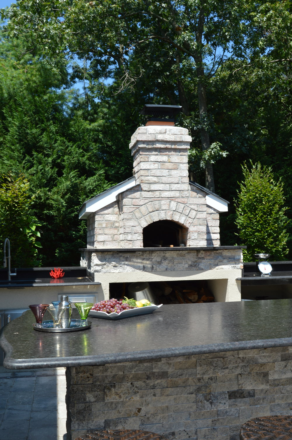 How to Integrate an Outdoor Fireplace into Your Outdoor Kitchen in Kings Park, NY