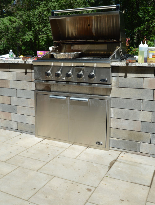 Outdoor kitchen in Oyster Bay NY