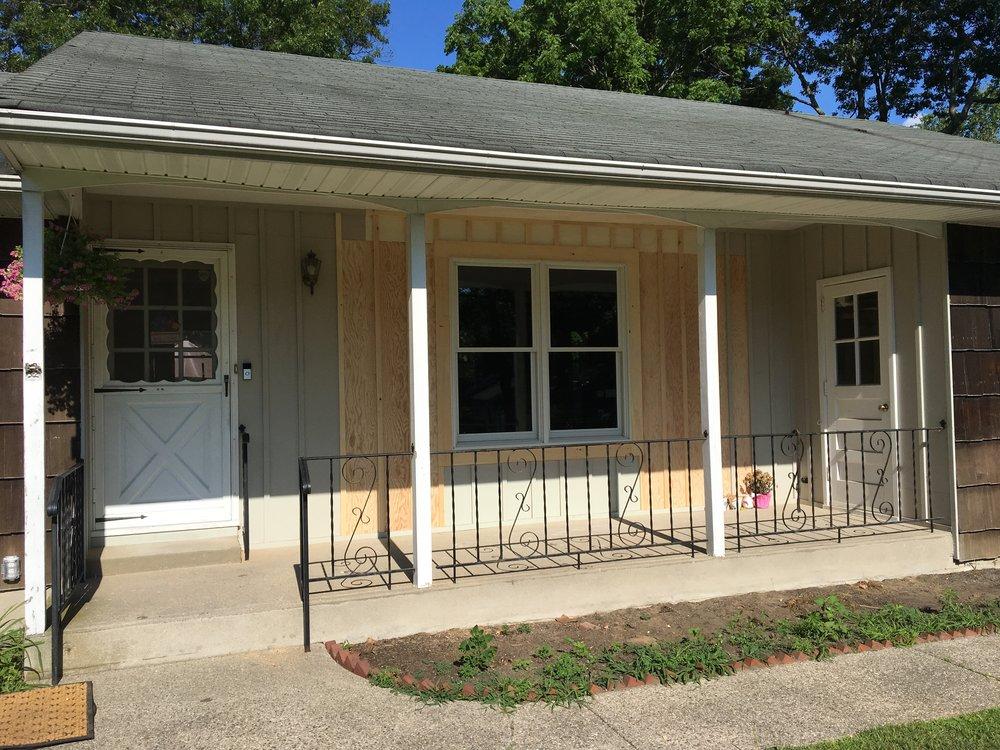 porch renovation in lake grove, ny