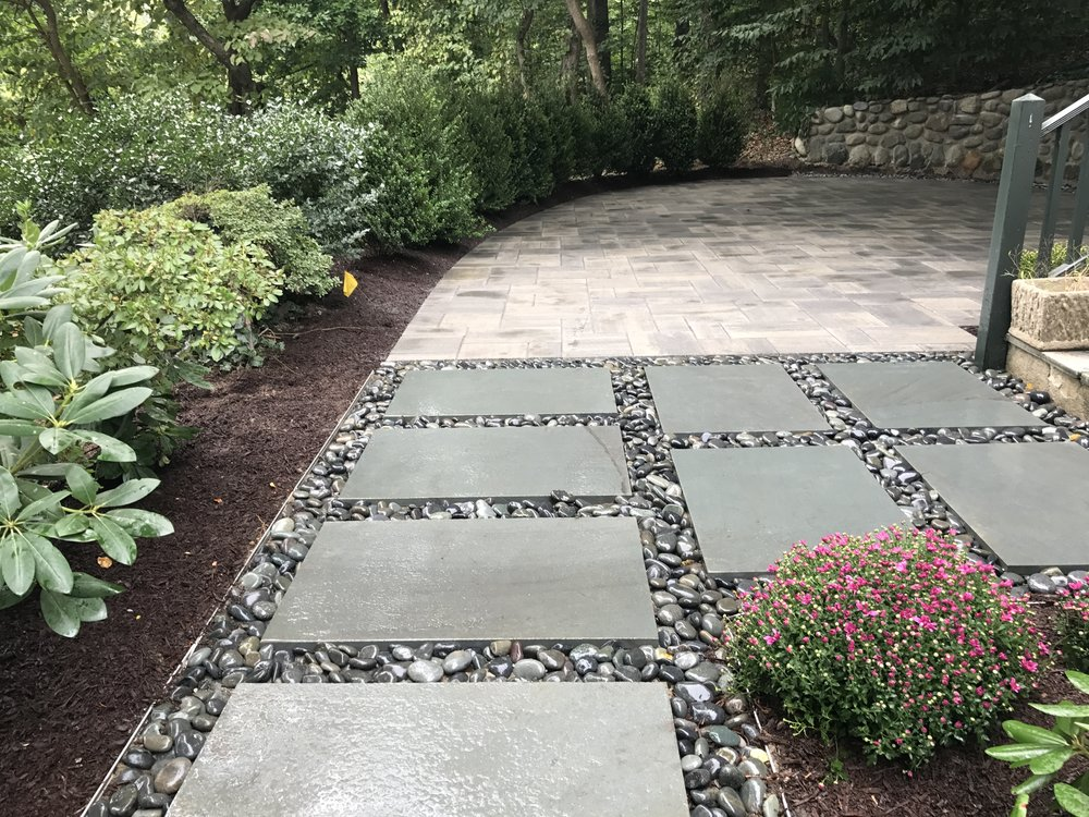 3 Tips for Using Stepping Stones in your Kings Park, NY, Landscape Design