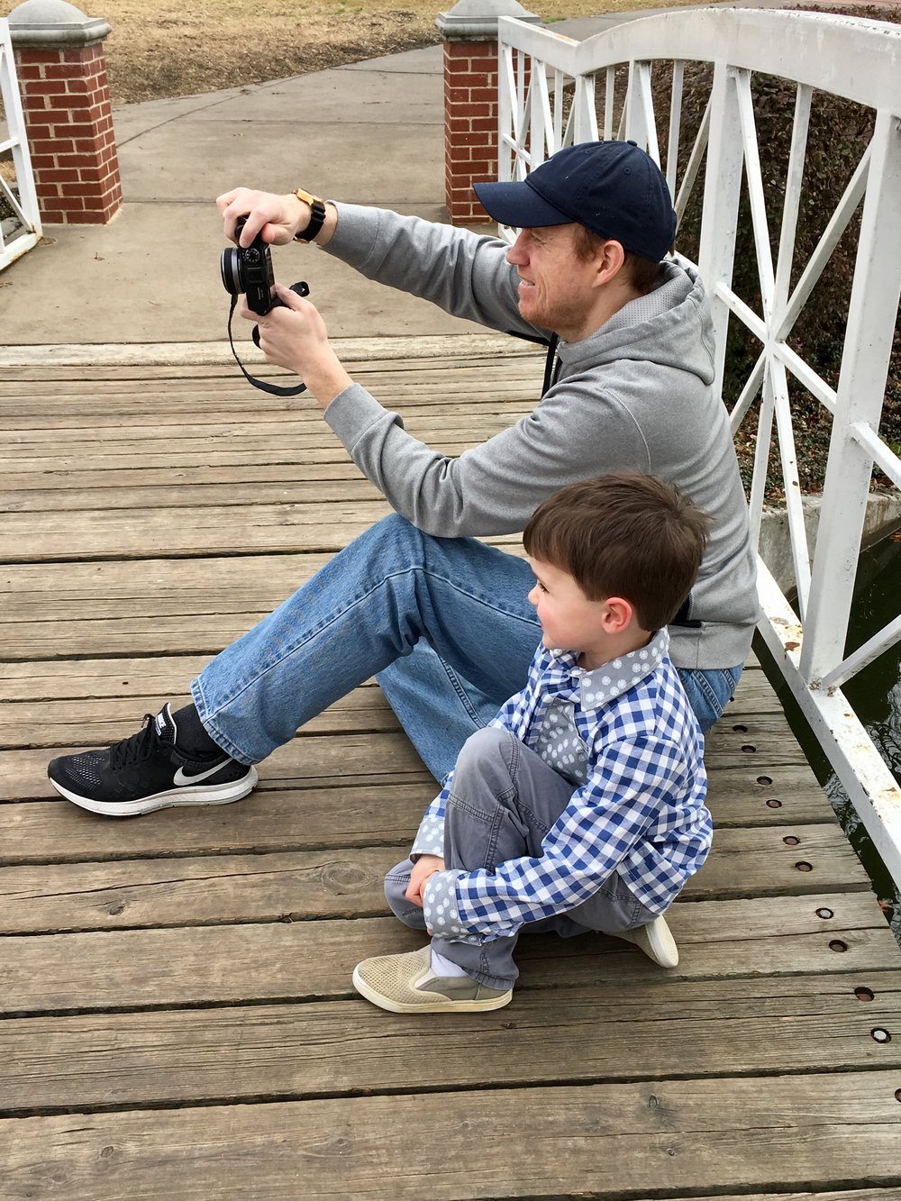 Photographer, dad, co-originator of Buddy & Bean (the kids)