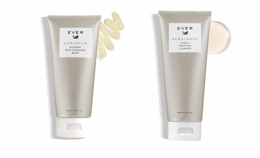LUMINOUS (for normal and dry skin) and REBALANCE (for oily and combination skin)