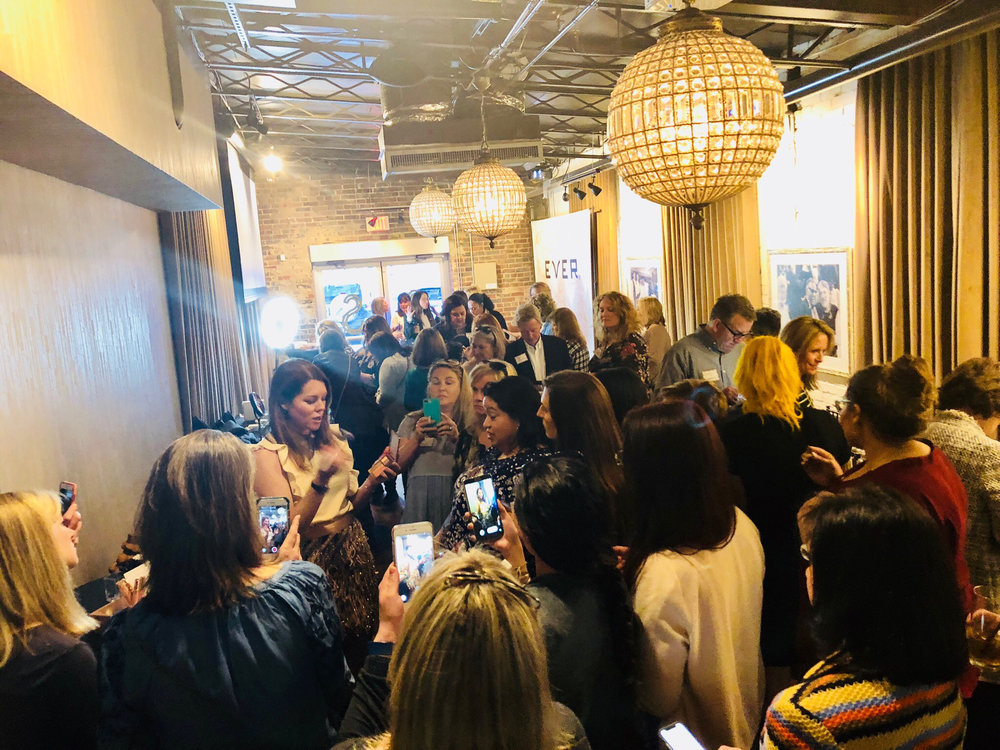Our VP of Product Development, Julie Shown, led the creation of EVER Makeup, and gave Nashville attendees the inside scoop on our products and her creative process!
