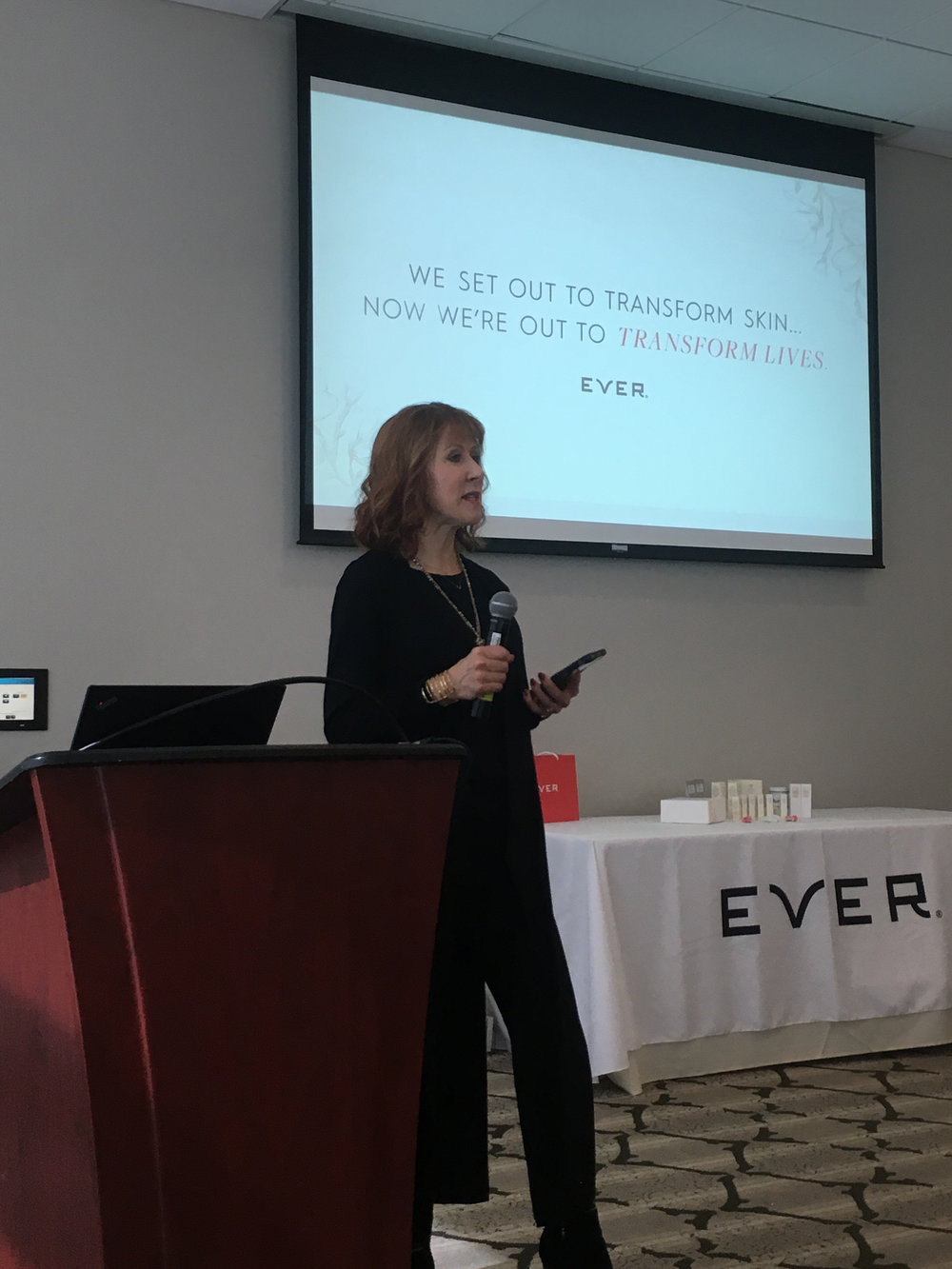 Independent Specialist Jacquie Landt shared the EVER mission with our St. Louis crowd.