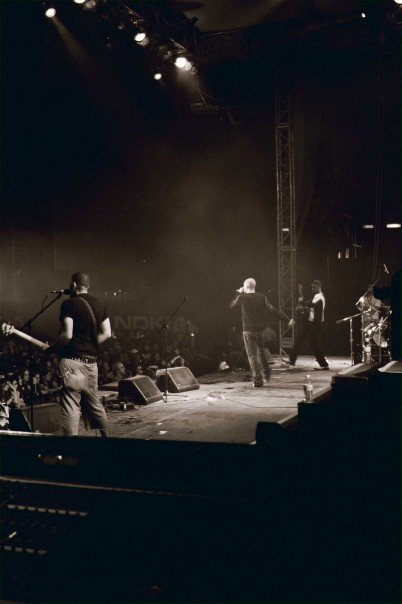 Opening for The Rasmus @ Desert Rock Festival 2004.