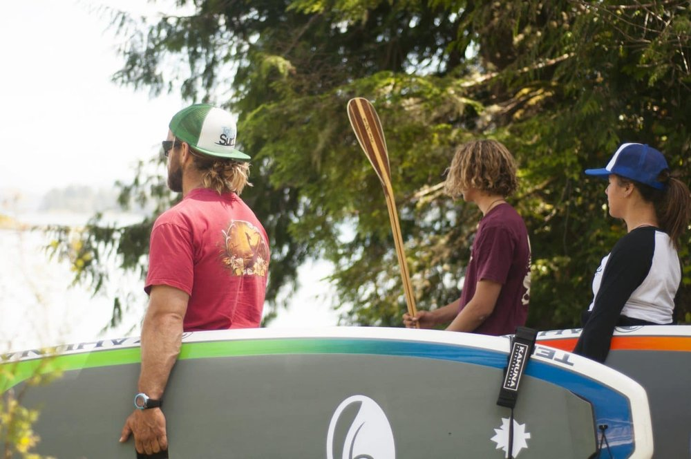 Tofino Paddlesurf About Us We're incredibly proud to be able to offer you a team of passionate, knowledgeable, certified and caring surfers and paddlers. Our local Tofino guides have over 40 years combined experience in ocean sports, teaching and guiding. Motivated by our love for the ocean, beaches, the fresh air and the wilderness of our home, we love to inspire others to have fun outdoors and on the ocean. Click here to find out more about the place we're so lucky to call home.
