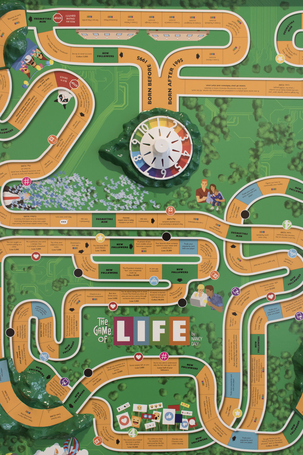 4 | Nancy Daly | The Game of Life (Social Media Edition) .JPG