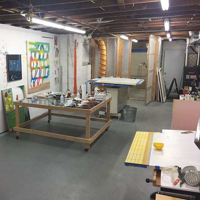 Hey there! I'm @bitterbittersalt and I'm taking over Hamiltonian's Instagram this week. Just got back from a long overdue trip to #austintexas. Here's a pic of my first day back in the studio.