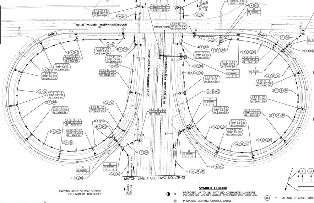 roadway diagram wiring drawing
