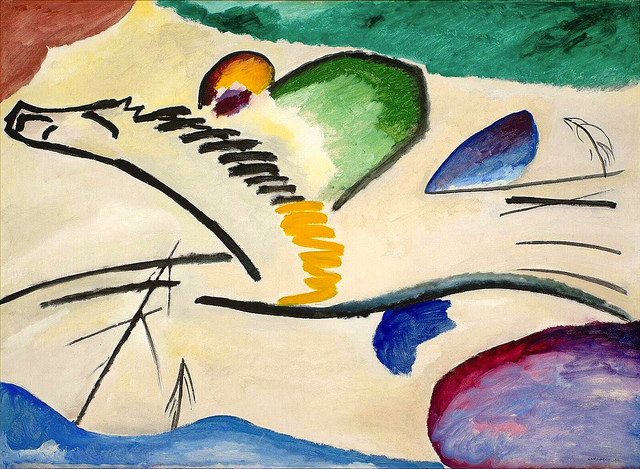 Wassily Kandinsky Blue Rider Abstract