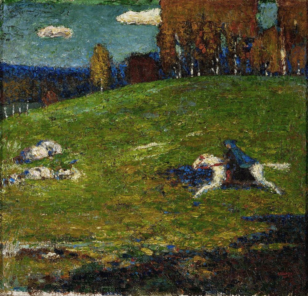 Wassily Kandinsky Blue Rider Impressionist