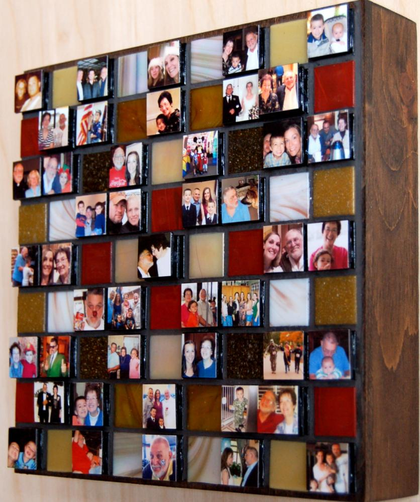 "8x8"" Mini-Montage shown with 45 photos"