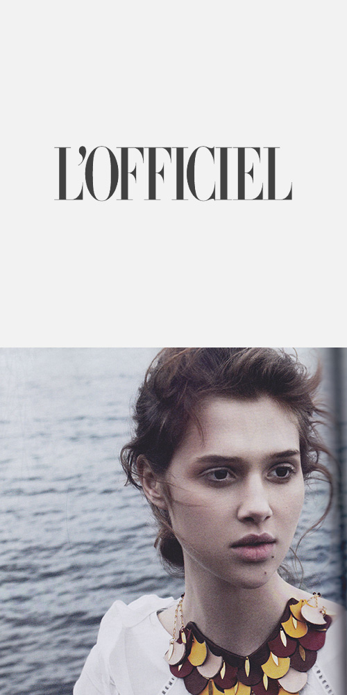 L'OFFICIEL - SEPTEMBER 2014