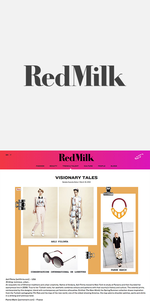 REDMILK - MARCH 2014