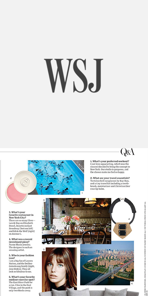 WALL STREET JOURNAL - SEPTEMBER 2014