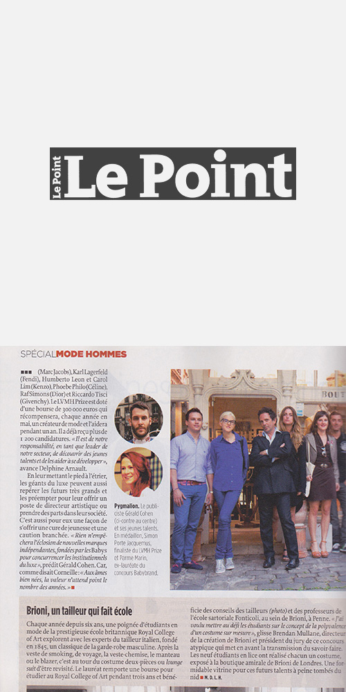 LE POINT - MARCH 2014