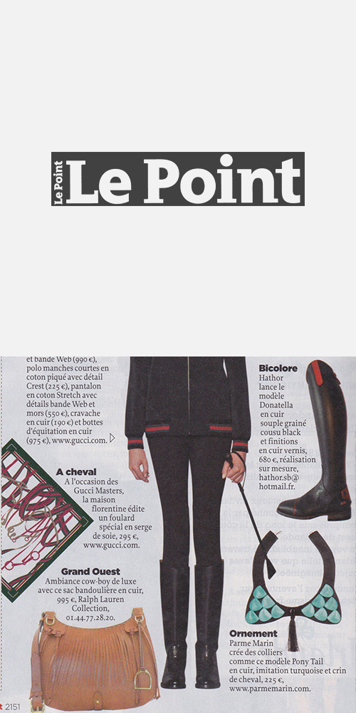 LE POINT - DECEMBER 2013