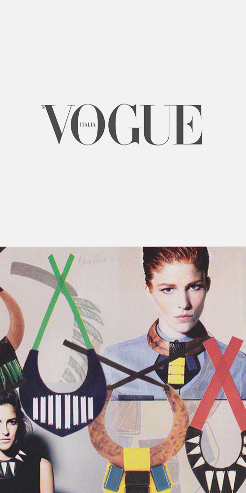 VOGUE ITALIA NEW TALENT - SEPTEMBER 2013