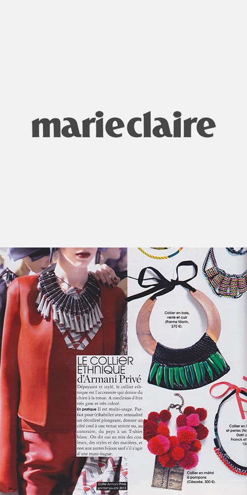 MARIE CLAIRE - AUGUST 2013