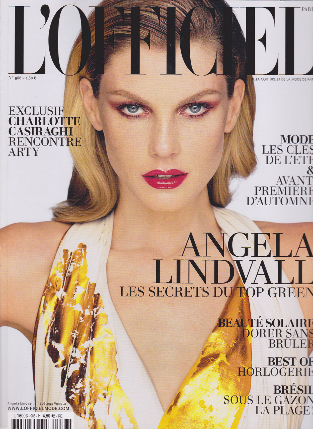 L'OFFICIEL PARIS - SEPTEMBRE 2014