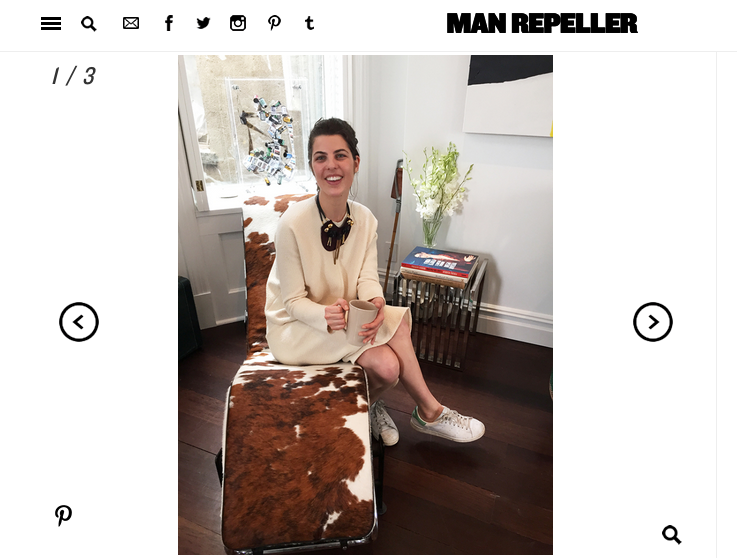 MAN REPELLER - MARS 2015