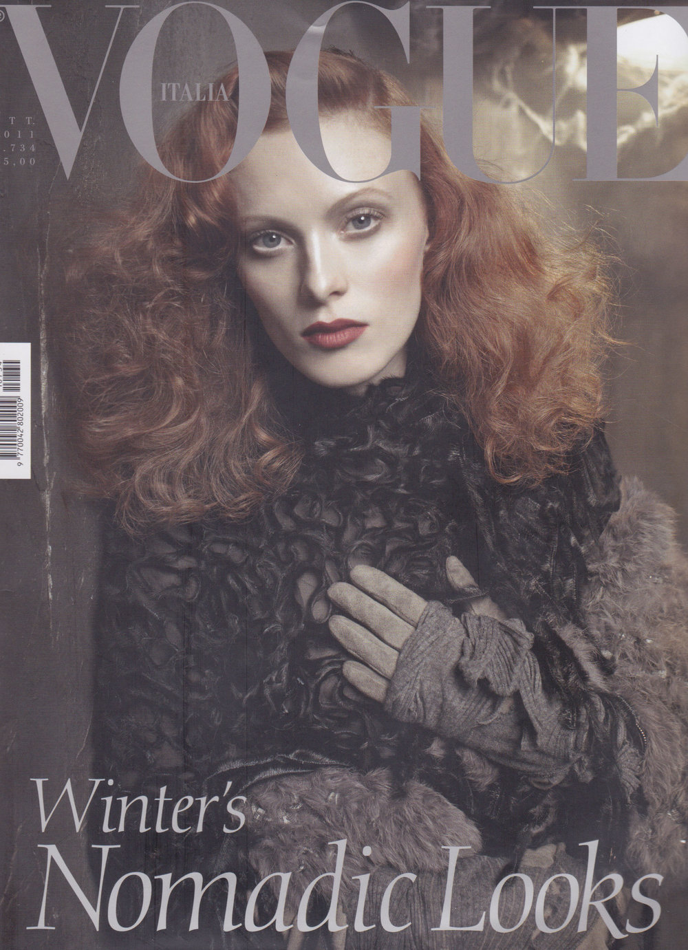 VOGUE ITALIA - OCTOBRE 2011