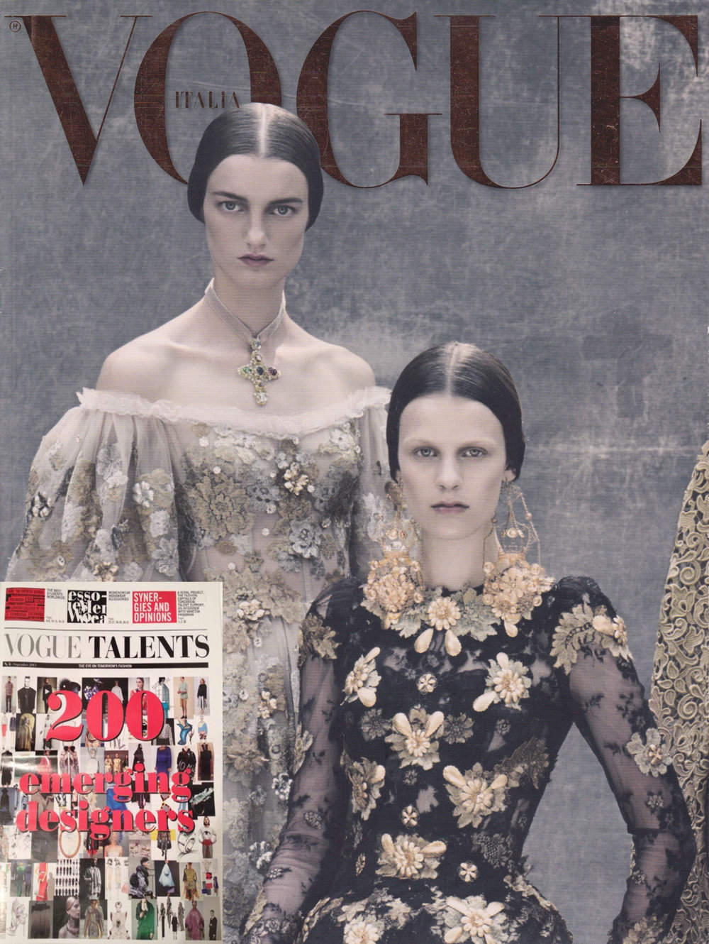 VOGUE ITALIA - NEW TALENT SEPTEMBRE 2013
