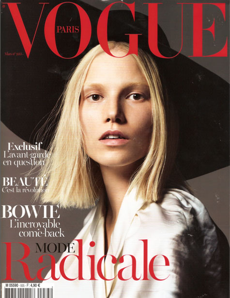VOGUE PARIS - MARCH 2013