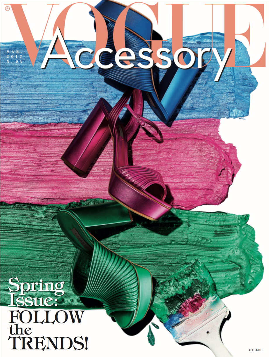 VOGUE ACCESSORY - MARCH 2017