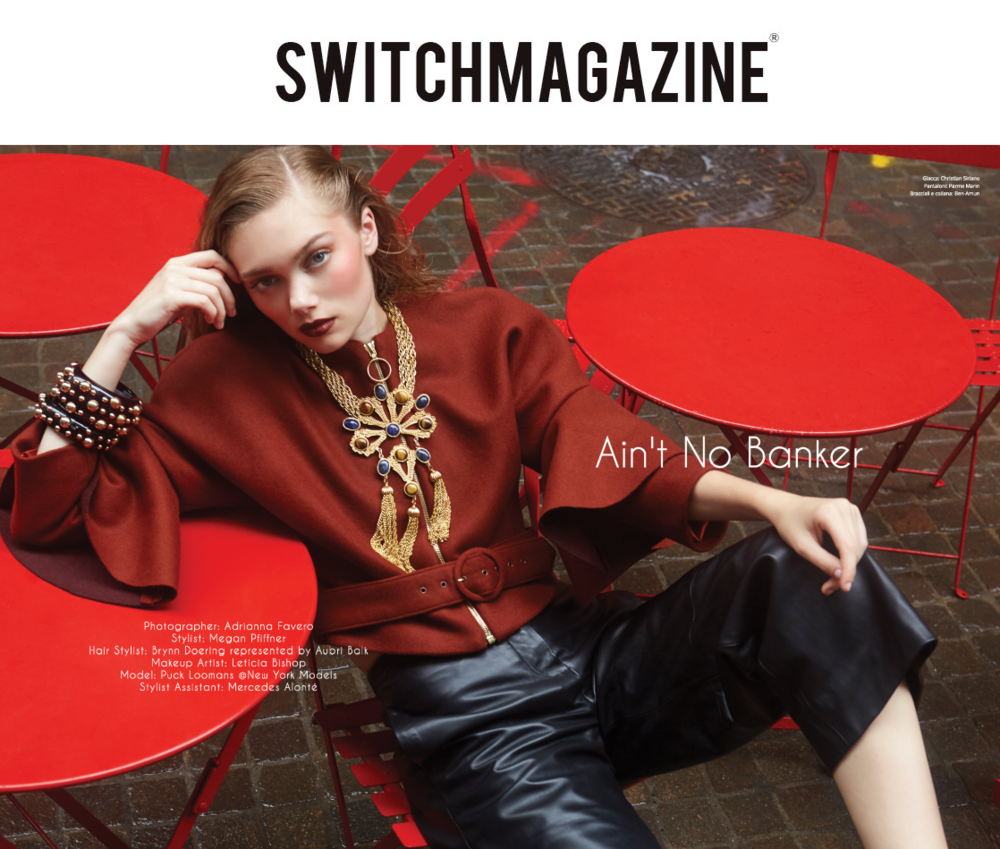 SWITCH MAGAZINE - SEMPTEMBRE 2017