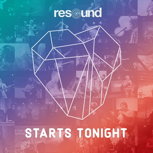 We start tonight at 7 p.m. w/  a night of prayer and worship w/ Leeland & Fuego. . Online sales will END at 5 p.m. at iResound.com. But Tickets will be available at the door all weekend. . See you soon! #rsnd17 #tenaciousheart