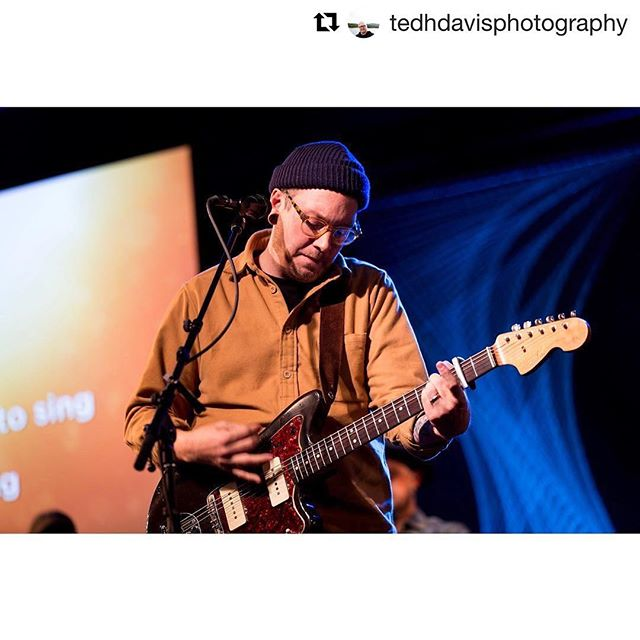 #Repost @tedhdavisphotography (@get_repost) ・・・ @seafinch of @loudharp leading worship during  @weresound .  I am coming out the other end of one of the darkest seasons of my life. Loudharp's music has been a safe place to connect with God in honesty and humility. I appreciate the honesty found in the lyrics and a resolve that mirrors that of the great Psalms. If you haven't listened to Loudharp I would encourage you to take some time and find a safe place and turn on some of their tunes. You will no regret it. #rsnd17 #resound2017 #tenaciousheart