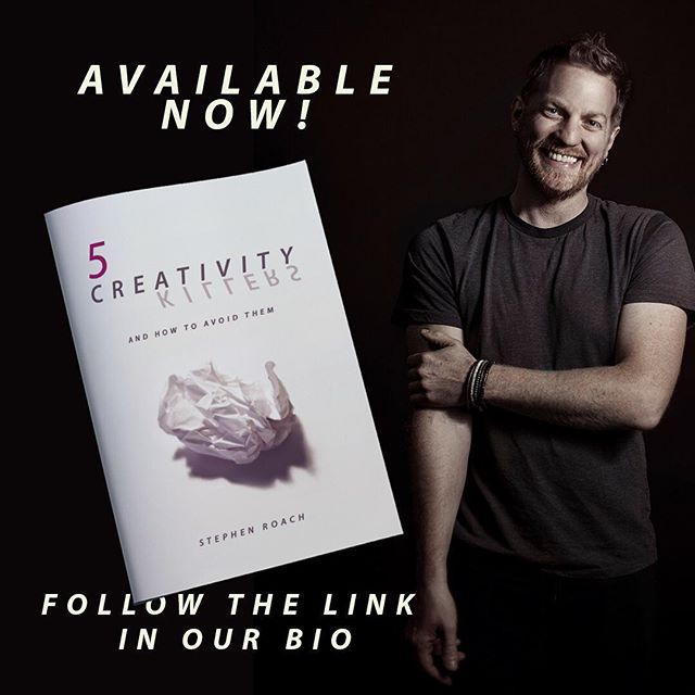 Hey friends, are you interested in gaining creative momentum in 2019. If so, you must take a moment to download this new e-book from our friend Stephen Roach (@ruckusmoped). This new book will expose the common lies that keep most artists stuck. Download it for FREE at CreativityKillers.net! @thebreathandtheclay