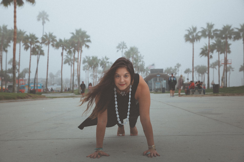 Plank in Venice Beach